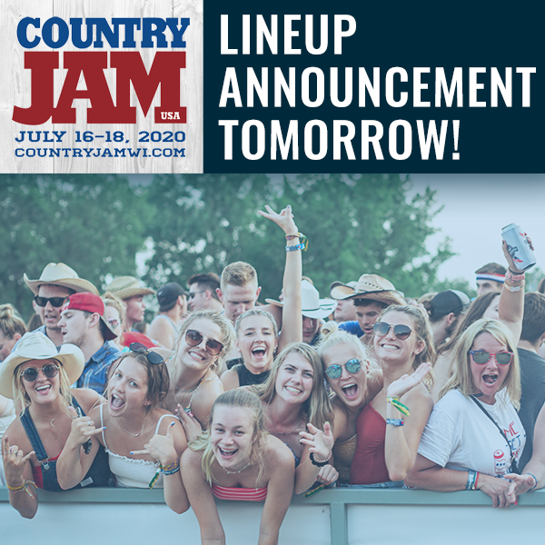 COUNTRY JAM LINE UP